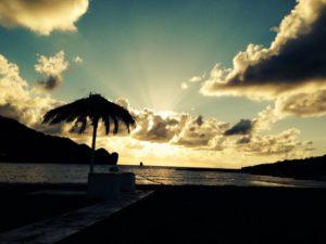 tramonto aperitivo isole eolie