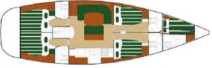 interni barca a vela eolie